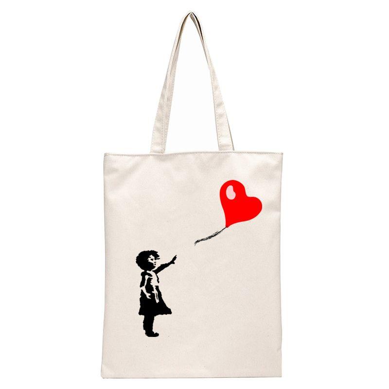 Balloon Girl - Banksy Tote Bags